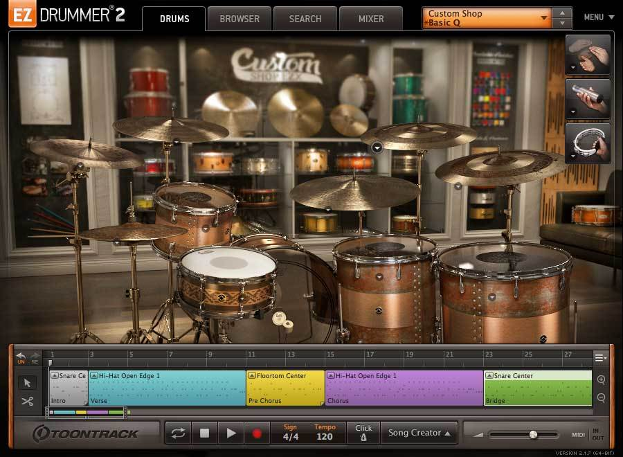 Toontrack EZX - Custom Shop