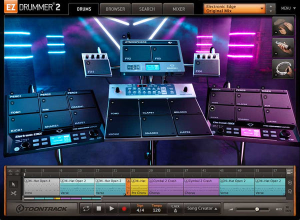 Toontrack EZX Electronic Edge EDUCATION