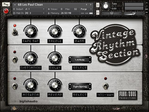 Review Big Fish Audio Vintage Rhythm Section
