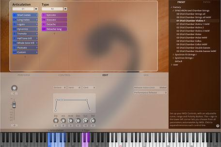 VSL SYNCHRONized Chamber Strings GUI 3