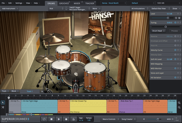 Toontrack SDX: The Rooms of Hansa EDUCATION