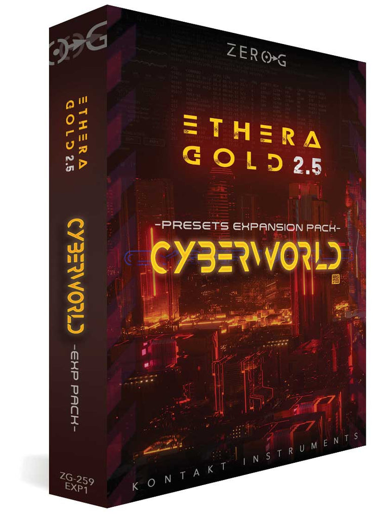 Zero-G CyberWorld Presets - expansion for Ethera Gold 2.5
