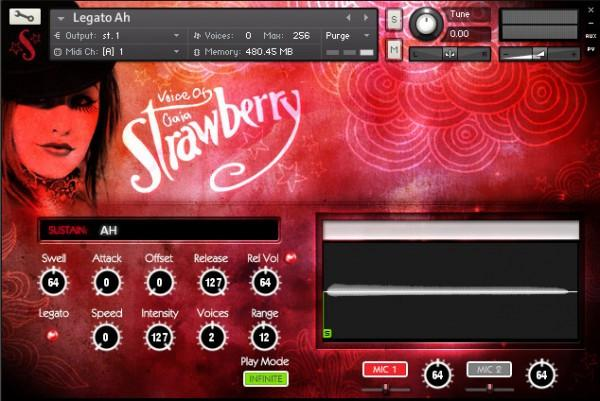 Review Soundiron Voice of Gaia Strawberry
