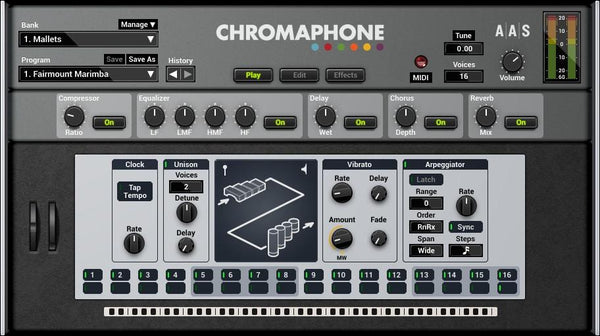 Review AAS Chromaphone 2