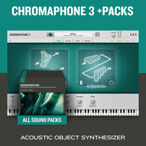 AAS Chromaphone 3 + Packs