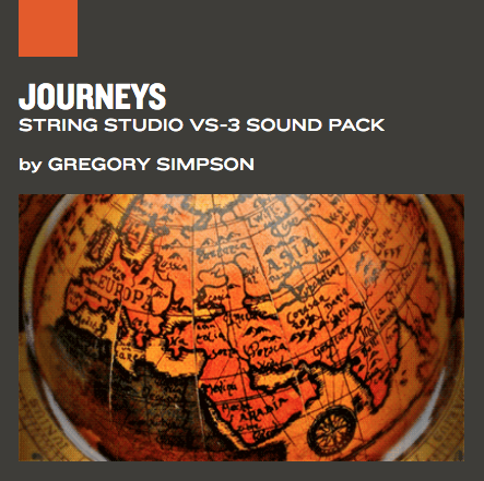 AAS Journeys String Studio VS-3 Sound pack