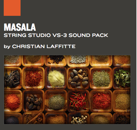 AAS Masala String Studio VS-3 Sound pack