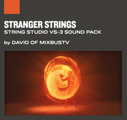 AAS Stranger Strings String Studio VS-3 Sound pack
