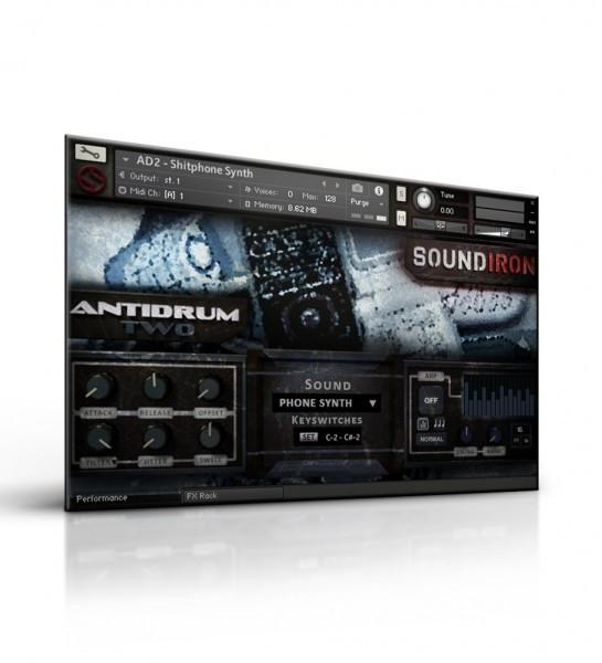 Library Soundiron Antidrum II