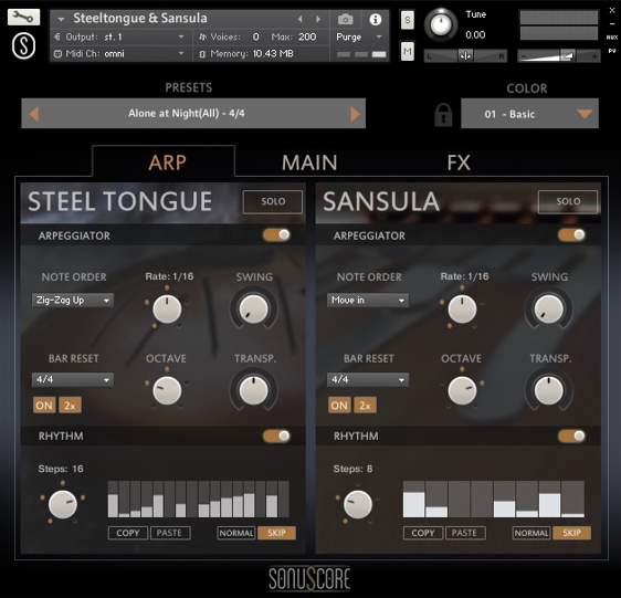 Review Sonuscore Origins Vol 1 Steel Tongue and Sansula