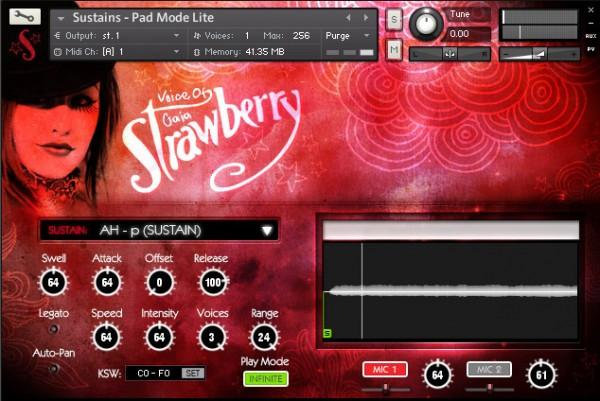 Interface Soundiron Voice of Gaia Strawberry