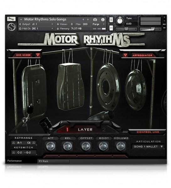 Interface Soundiron Motor Rhythms