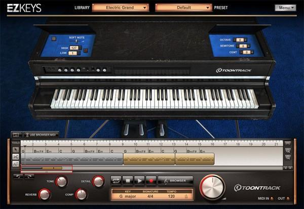 Toontrack EZkeys Electric Grand EDUCATION