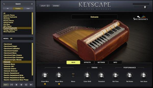 Sample Spectrasonics Keyscape