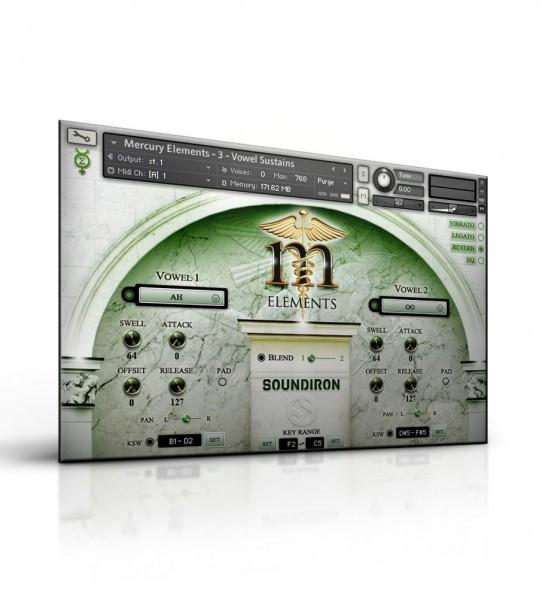 Virtual Instruments Soundiron Mercury Elements - Player Edition