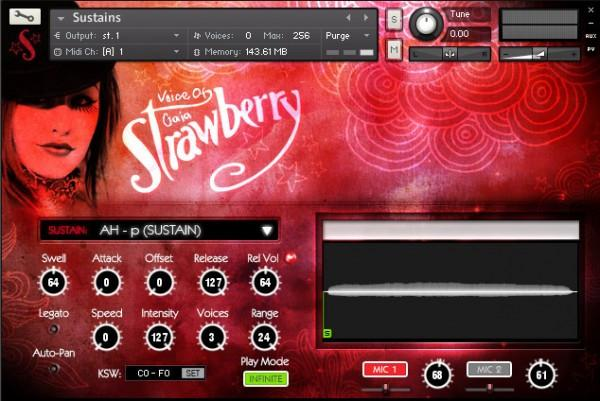 GUI Soundiron Voice of Gaia Strawberry
