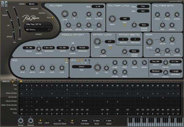 Download Rob Papen Rhythm Guitar Synth