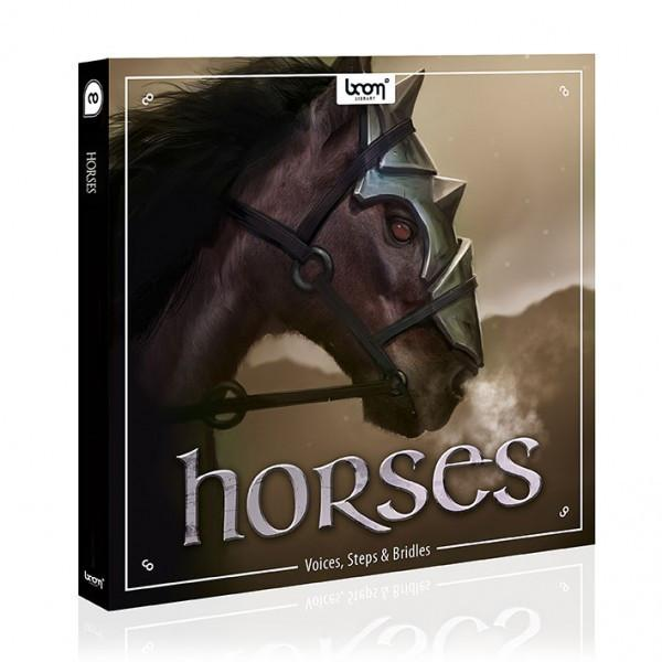 Download Boom Library Horses Voice, Steps and Bridles
