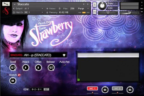 Library Soundiron Voice of Gaia Strawberry
