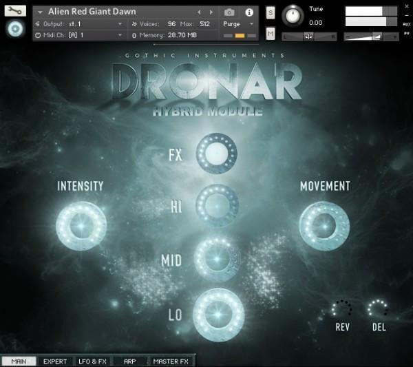 Gothic Instruments DRONAR Hybrid Module EDUCATION