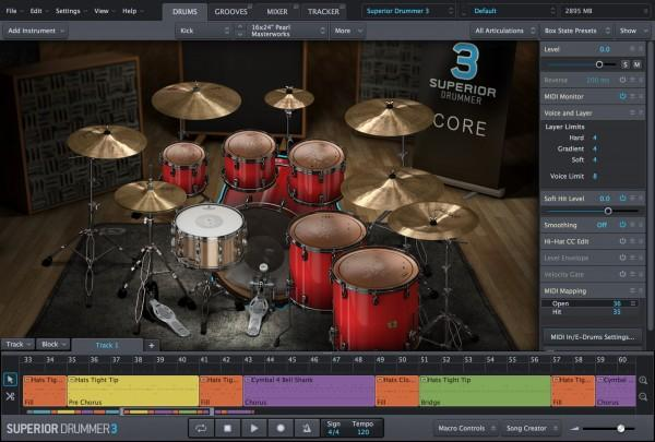 Effects Toontrack Superior Drummer 3 Education Institution MULTIPLE LICENCE