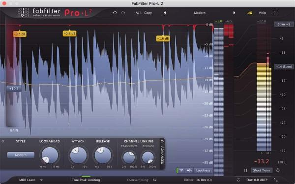 Interface FabFilter Mastering BUNDLE
