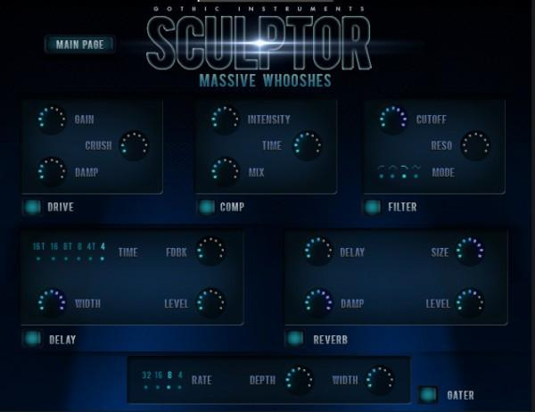 Buy Gothic Instruments SCULPTOR Massive Whooshes