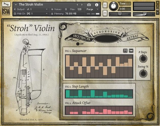 Buy Impact Soundworks The Stroh Violin FREE