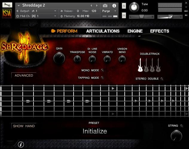 Install Impact Soundworks Shreddage Rock Band