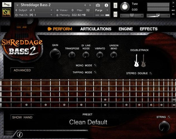 Buy Impact Soundworks Shreddage Rock Band
