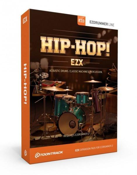 Toontrack EZX - Hip-Hop EDUCATION