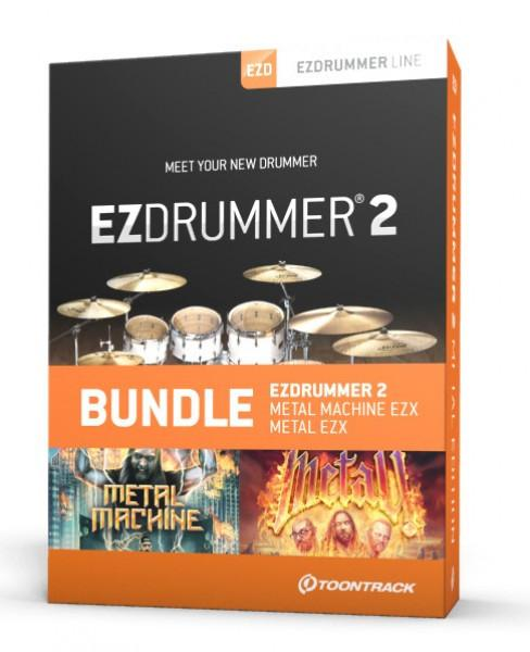 Download Toontrack EZdrummer 2 Metal Edition