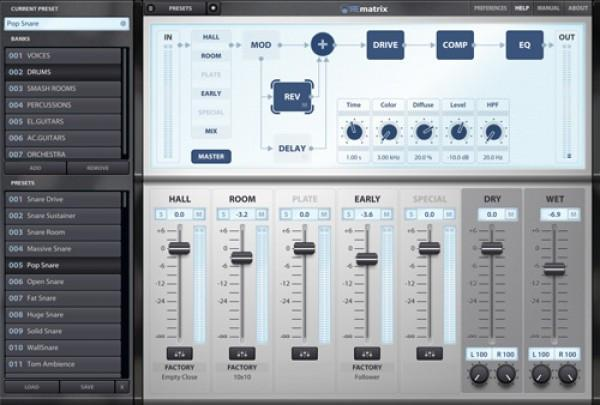 Overloud REmatrix Reverb plus Factory Library EDUCATION