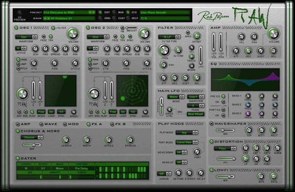 Download Rob Papen Raw