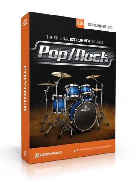 Toontrack EZX - Pop Rock EDUCATION