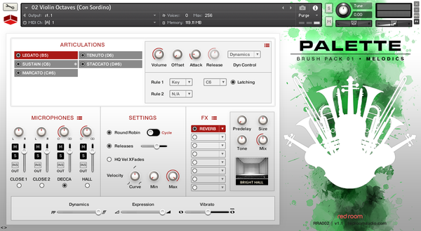 Review Red Room Audio Palette Brush Pack 01 Melodics