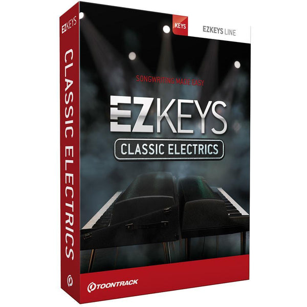 Toontrack EZkeys Classic Electrics EDUCATION