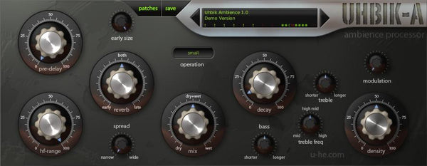 u-He Uhbik effects plugin suite bundle download buy now procecssor gui