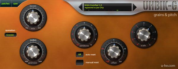 u-He Uhbik effects plugin suite bundle download buy now grains pitch gui
