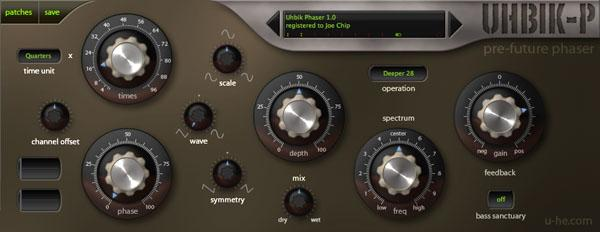 u-He Uhbik effects plugin suite bundle download buy now phaser gui