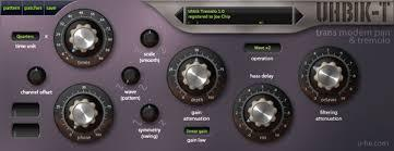 u-He Uhbik effects plugin suite bundle download buy now tremolo gui