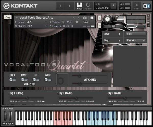 Buy Bela D Media Vocal Tools Quartet