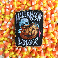 Halloween Lover Embroidered Patch