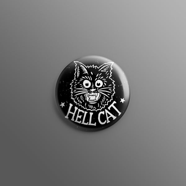 HELL CAT 1inch Pin