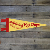 Mini Hot Dogs Pennant