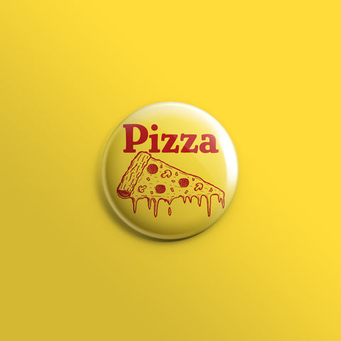Pizza Slice 1inch Pin