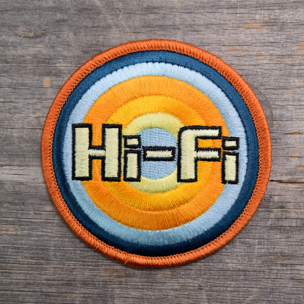 SALE Hi-Fi Embroidered Patch