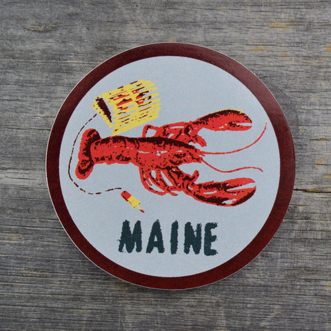 Maine Lobster Vinyl Sticker