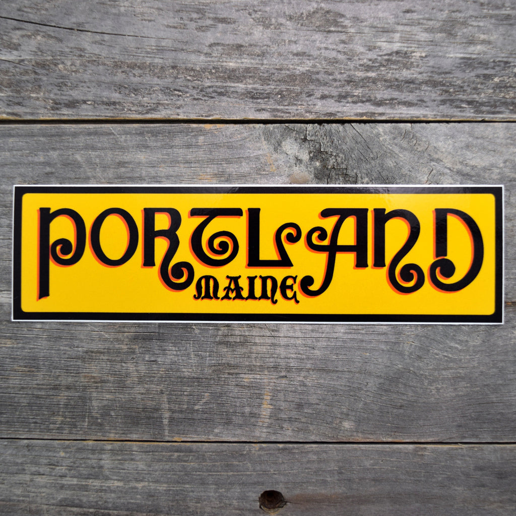 Portland, Maine Vinyl Sticker