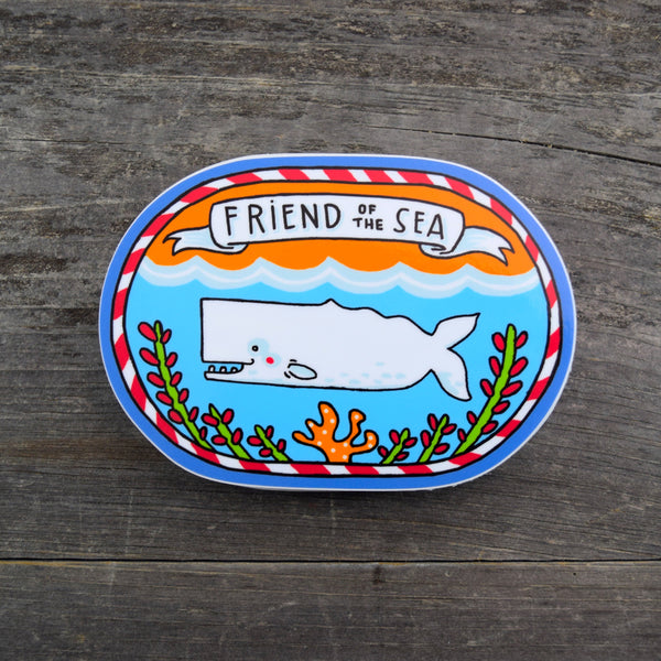 Friend of the Sea Vinyl Sticker